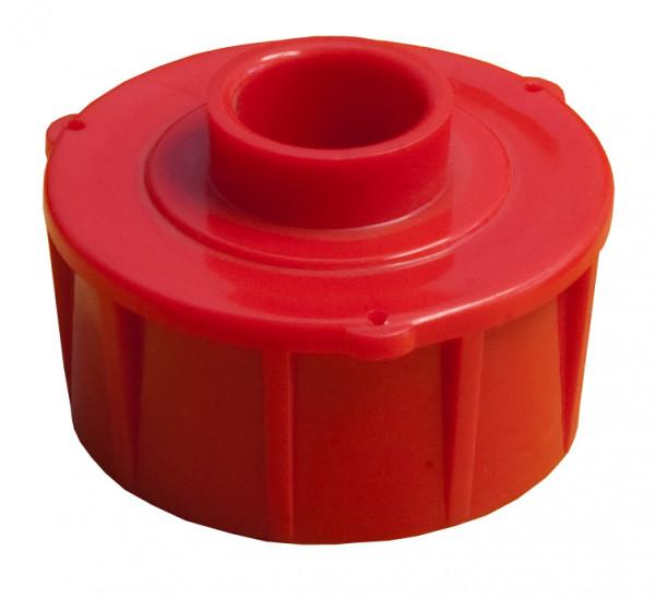 Schraubkappe mit Loch für Tank oval