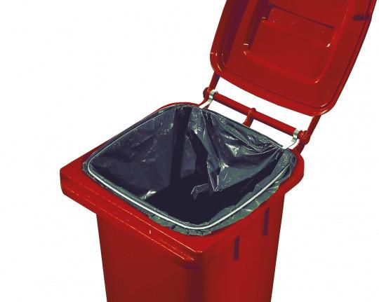 Sackhalterung für Mülltonne